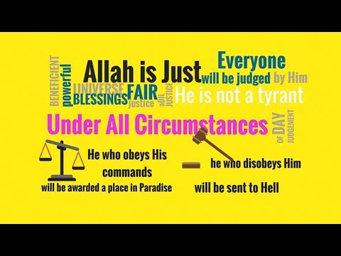 kids islamic stories | Adl | Justice of Allah | Part 1 | Attributes of God | muslim || kaz school