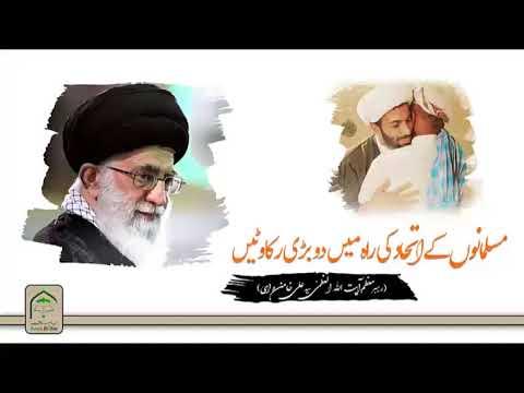 مسلمانوں کے اتحاد کی راہ میں دو بڑی رکاوٹیں || رھبر معظم سید علی خام
