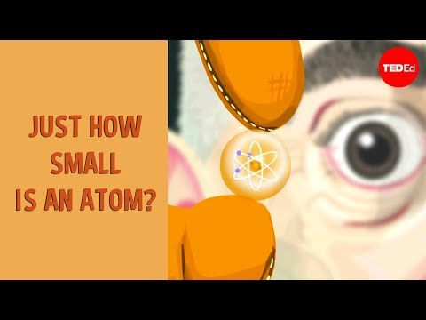 Just How Small is an Atom? - English